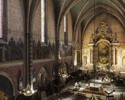 MC2F - Lespinasse - Nos réalisations - Réalisations 2013 - Eglise saint Nicolas